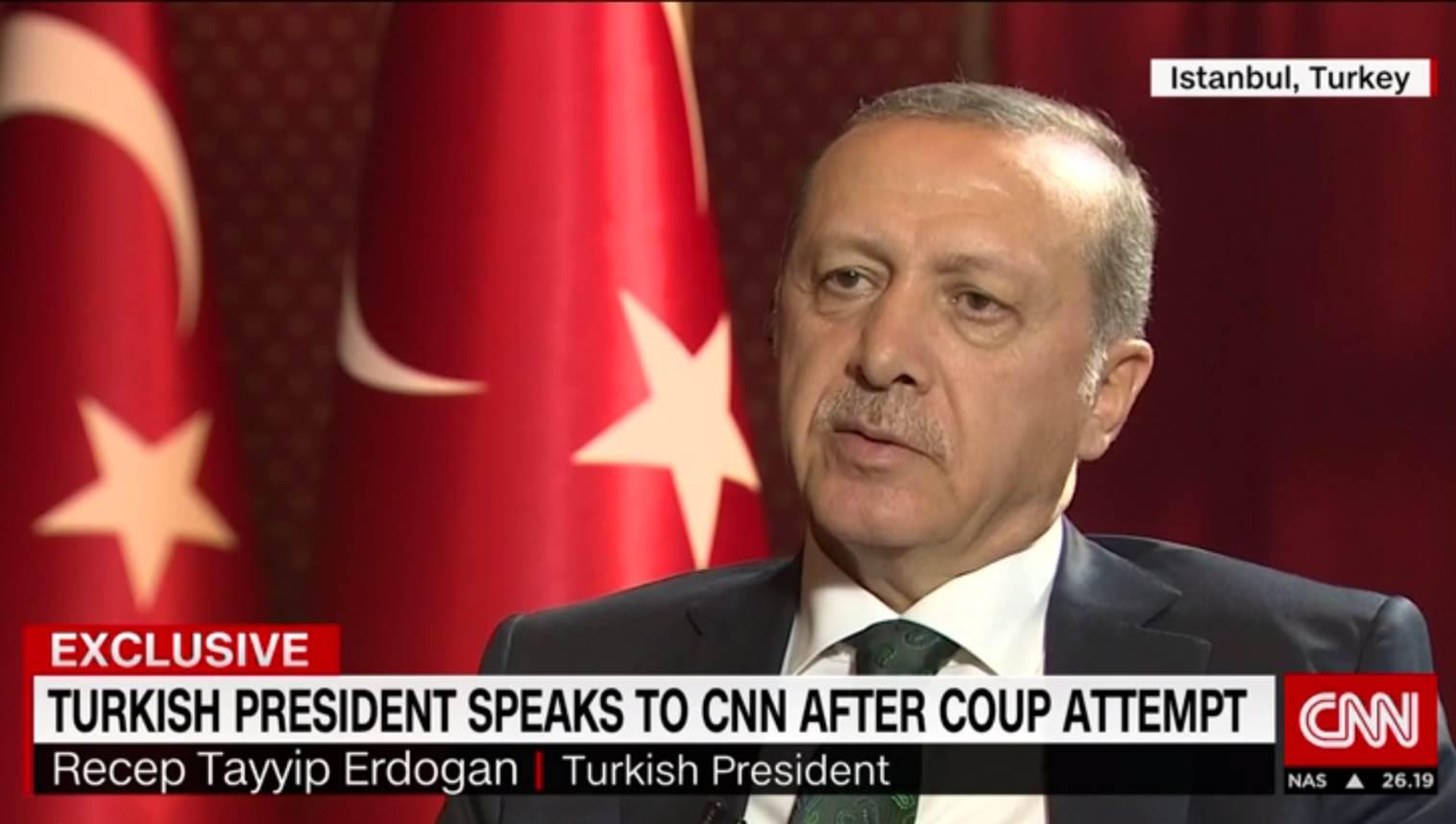 Türkei: Erdogan rechnet offenbar mit einem zweiten Putsch-Versuch