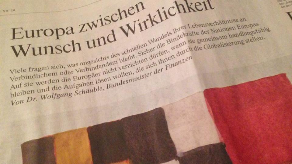 Schäuble gibt deutsche Sparguthaben als Pfand für Euro-Risiken frei
