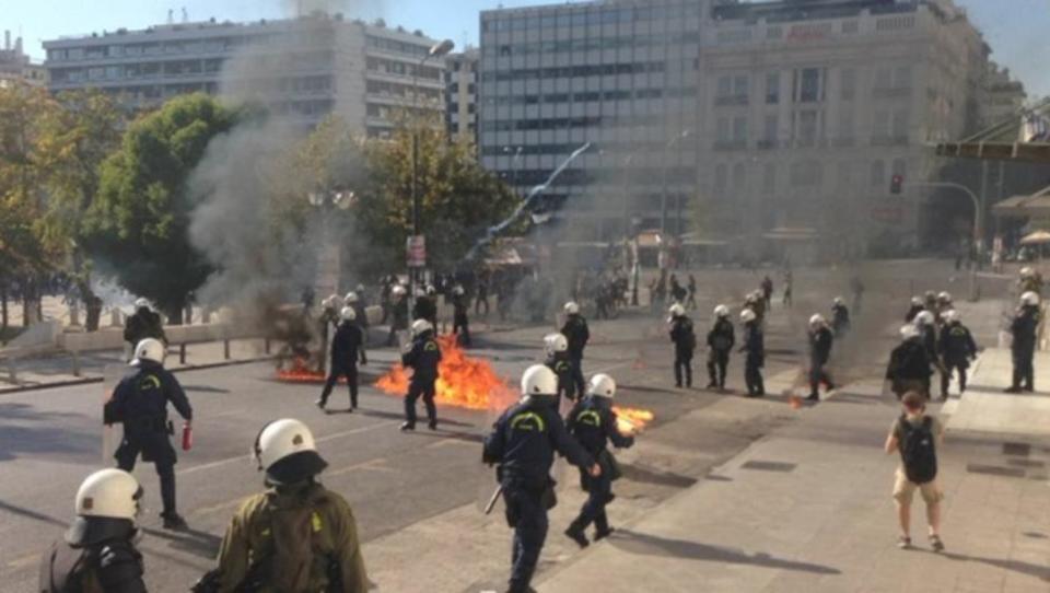 Griechenland: Schwere Ausschreitungen bei Generalstreik