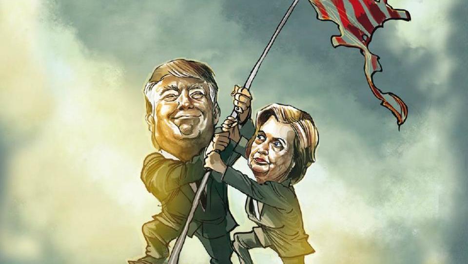 Weltmacht in der Krise: Worum es bei der US-Wahl wirklich geht
