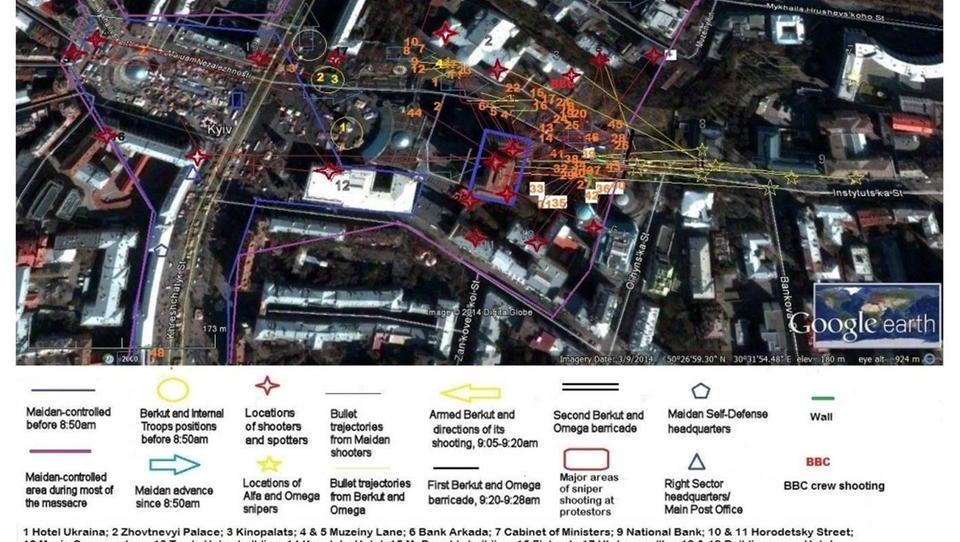 Studie: Vom Westen unterstützte Opposition hat Maidan-Massaker verübt