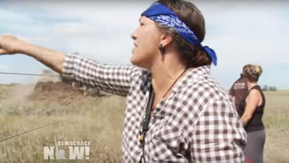 USA: Sioux-Nachfahren leisten Widerstand gegen Öl-Pipeline