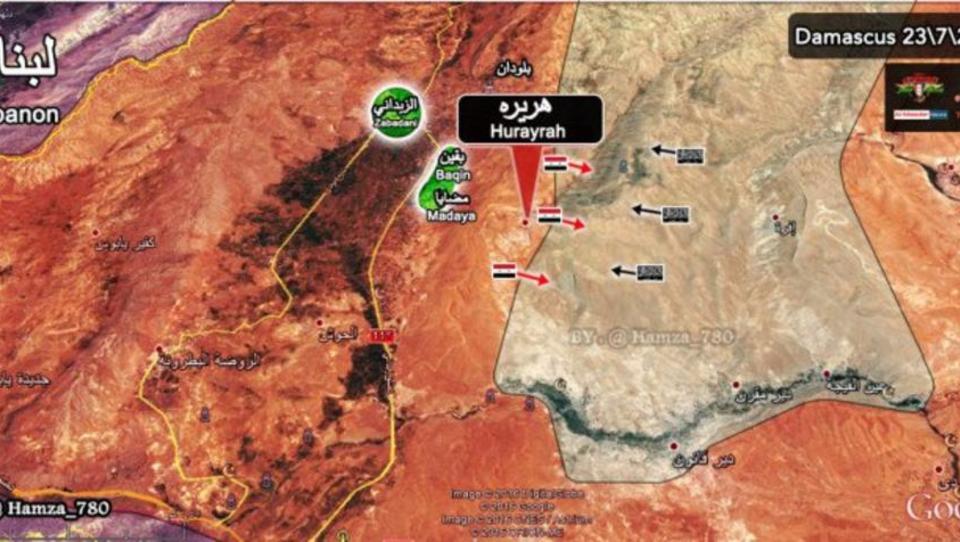 Russische Kampf-Jets bombardieren US-Stützpunkt in Syrien