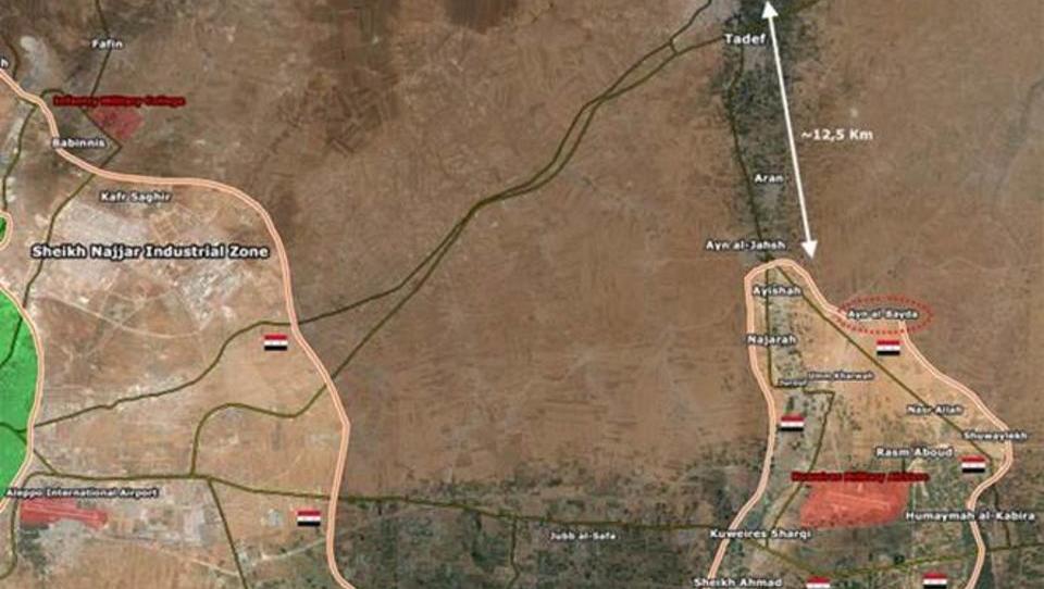 Mit Hilfe Russlands: Syrische Armee rückt Richtung Türkei vor