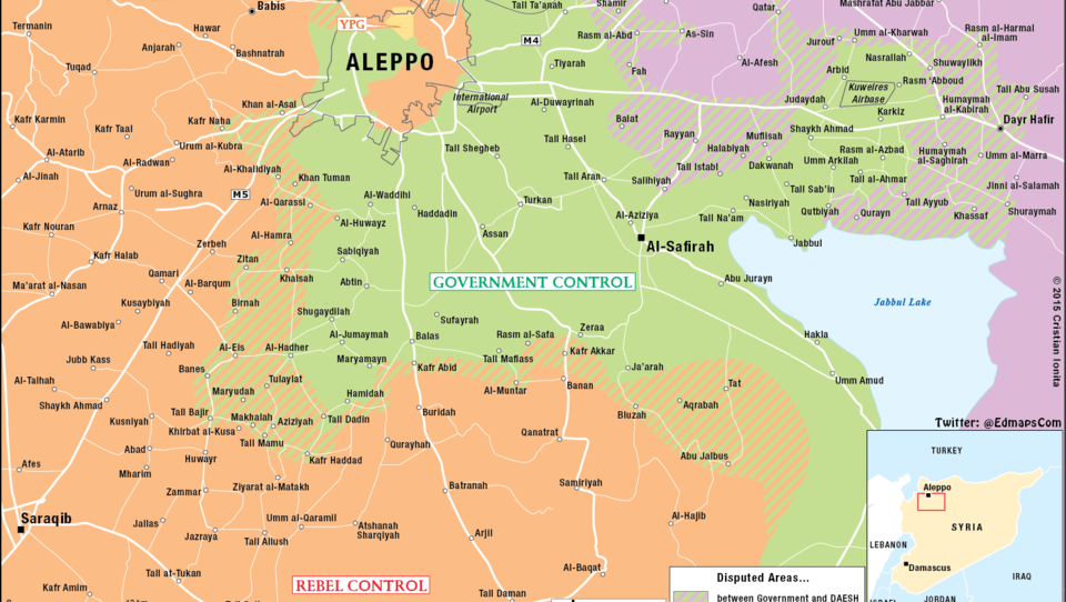 Schlacht um Aleppo: Russland verlegt Panzer nach Syrien