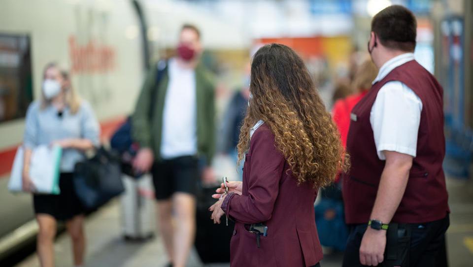 Deutsche Bahn: Infektionsrisiko in Zügen ist geringer als anderswo