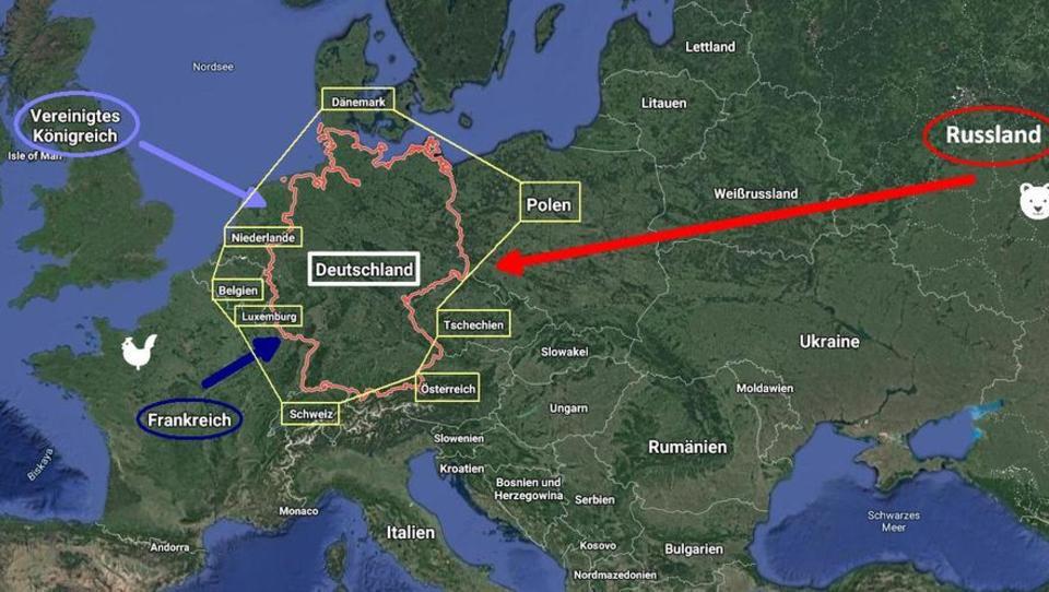 Zwischen West und Ost: Wie Deutschlands Geografie eine ausbalancierte Sicherheitspolitik erfordert