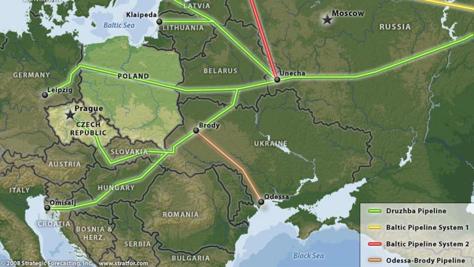 Druschba-Pipeline: Tödliche Chemikalie stoppte Gaslieferungen nach Deutschland
