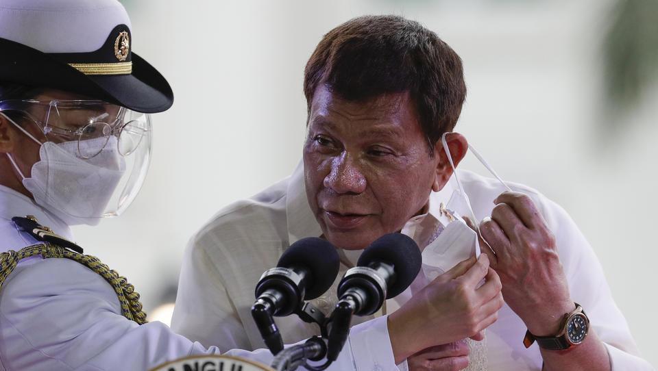 Philippinen: Präsident Duterte droht Impfverweigerern mit Gefängnis