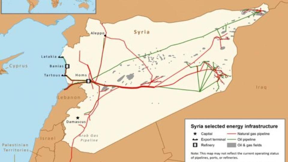 USA werfen Russland und Syrien Öl-Handel mit ISIS vor