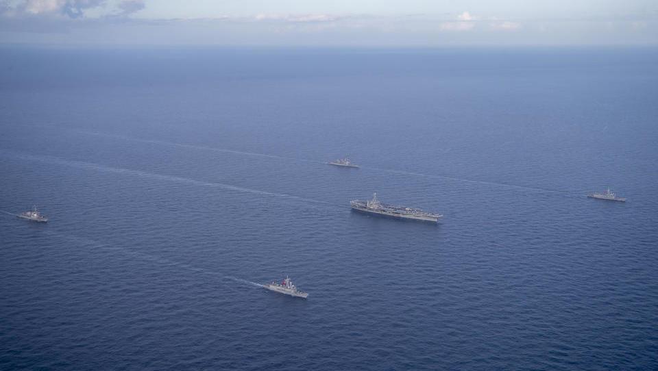 Spannungen um Rohstoffe: USA und Türkei führen Manöver im östlichen Mittelmeer durch