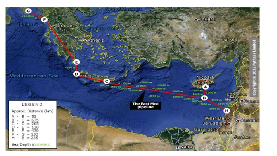 Energie-Konflikt im Mittelmeer: Israel, Griechenland und Zypern starten Pipeline-Projekt Eastmed