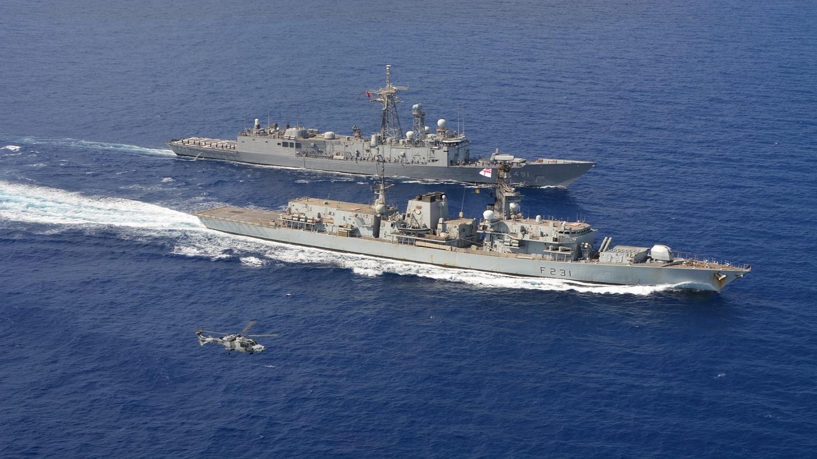 Gegen Frankreich: Türkei und Großbritannien führen Marine-Manöver durch