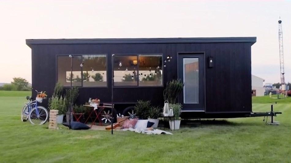 """Great Reset: Wohnen in winzigen Minihäusern soll das """"Klima retten"""""""