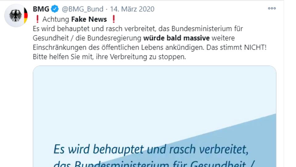 """Corona-Lockdown: Wie aus einer angeblichen """"Fake News"""" bittere Realität wurde"""