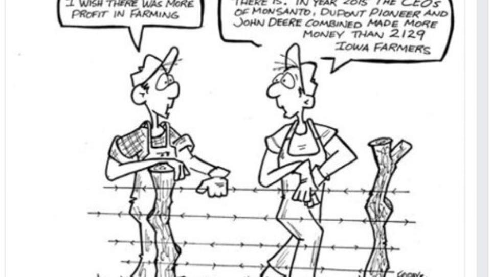 USA: Cartoonist wegen kritischer Saatgut-Karikatur gefeuert