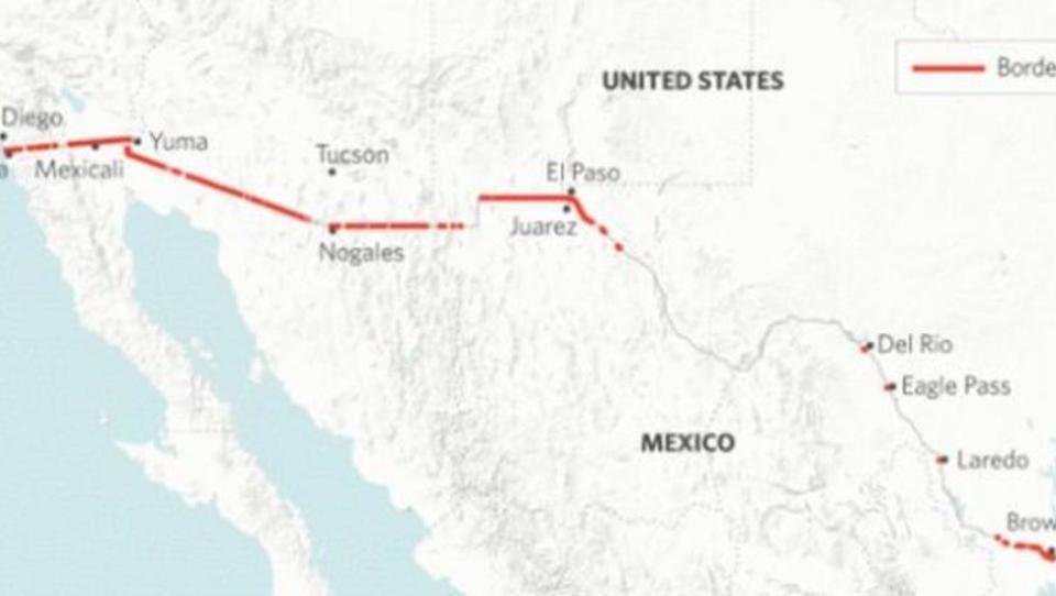 USA verlegen tausende Soldaten an Grenze zu Mexiko