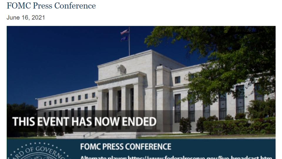 Ende der Online-Konferenz der Fed: Zusammenfassung der wichtigsten Beschlüsse