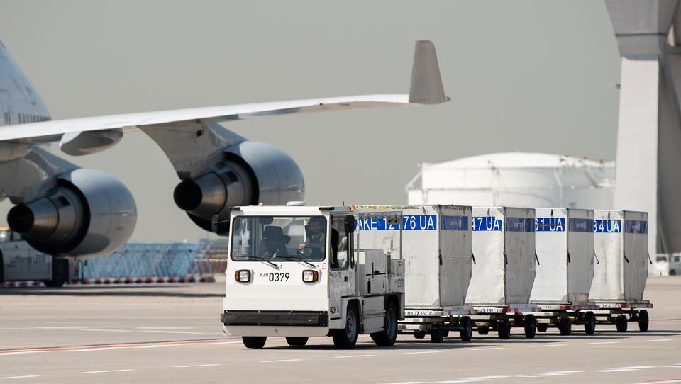 Europas Flughäfen verzeichnen Einbrüche beim Frachtverkehr