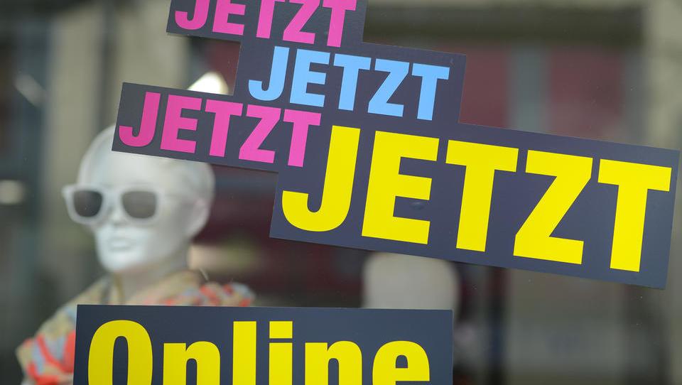Krise bedrückt Einzelhändler ohne Onlineshop