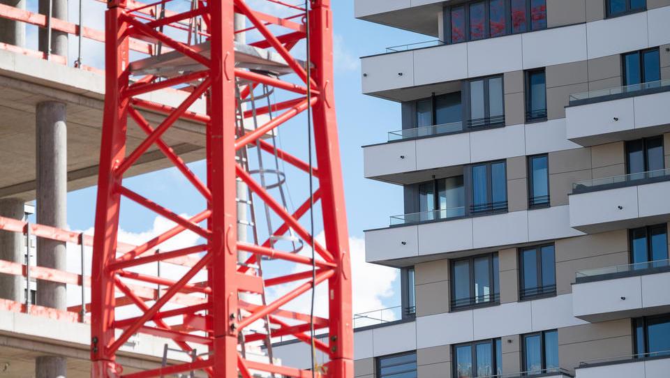 Bau-Boom im Corona-Jahr: So viele Wohnungen gebaut wie zuletzt 2001