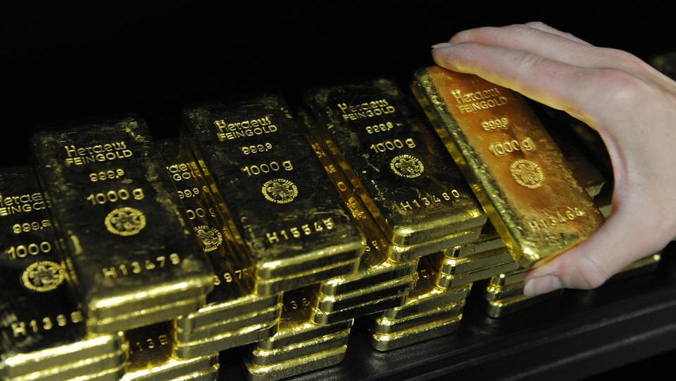 Gold-Bestände der Börsenfonds steigen auf neuen Rekordstand