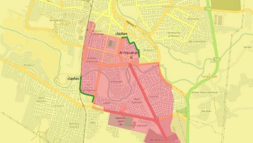 Kämpfe zwischen Kurden und Syrern ausgebrochen