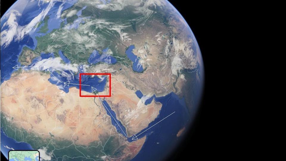 Östliches Mittelmeer: Großmächte kämpfen um das Herz der Welt