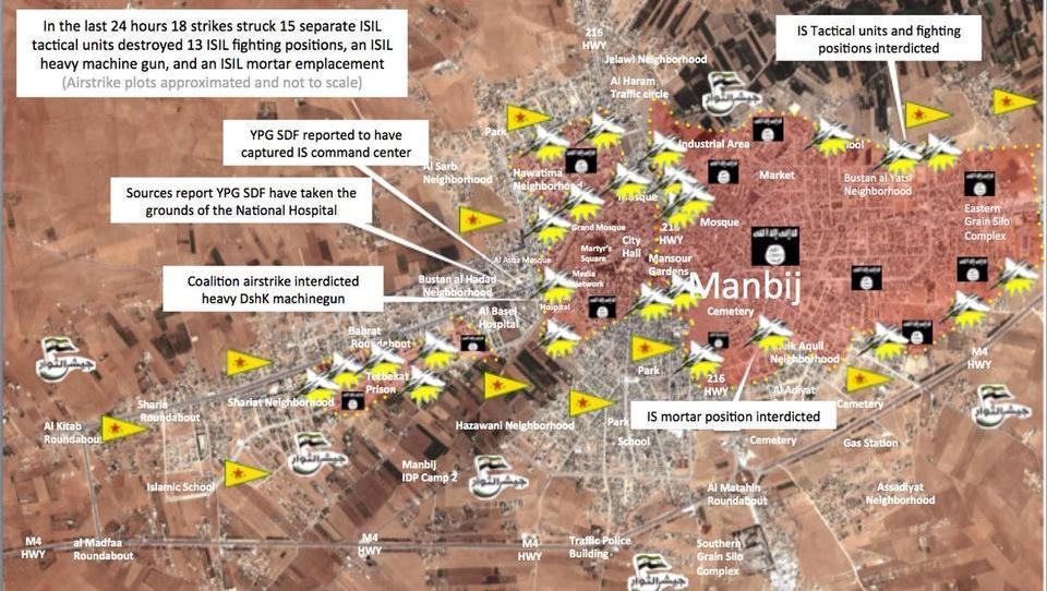 Syrien: ISIS-Stadt steht kurz vor dem Fall
