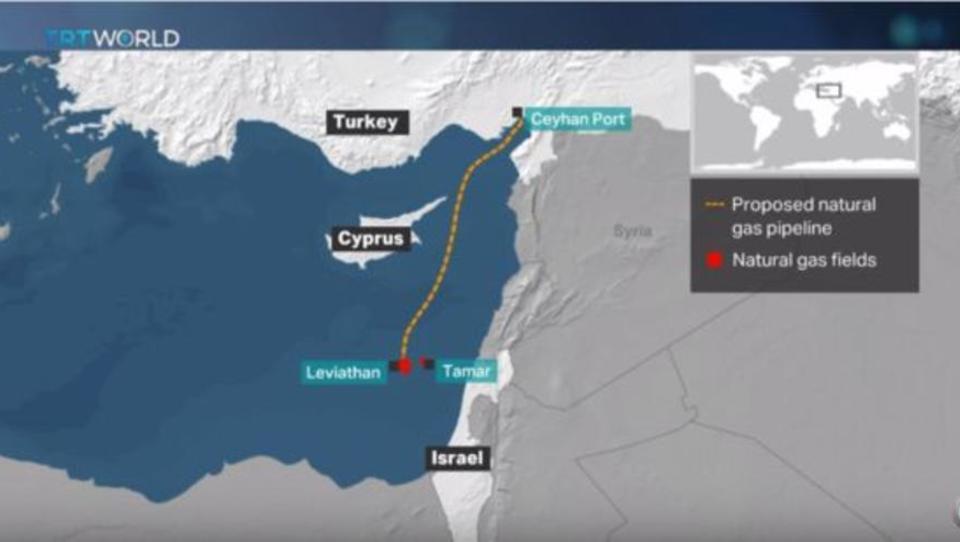 Israel und Türkei wollen Pipeline nach Europa bauen