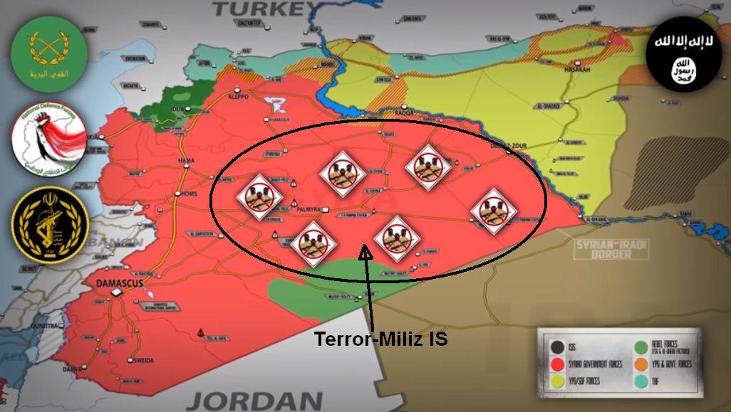Syrien: Der IS ist wieder zurück, Russland beginnt erneut mit Luftschlägen