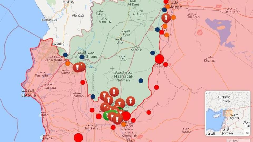 Türken schicken Söldnern in Idlib Verstärkung, werden aus der Luft attackiert