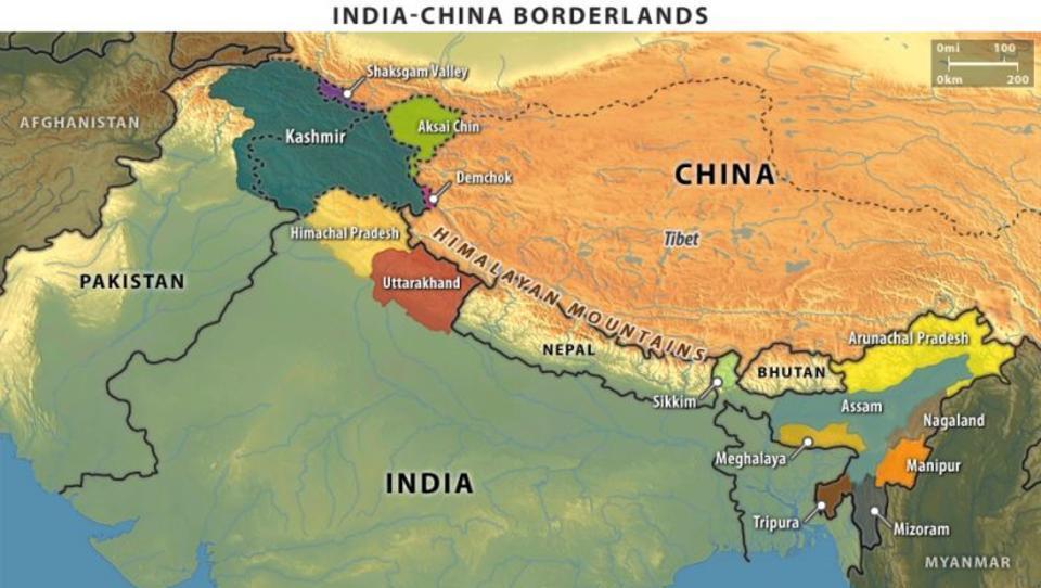 Indien schließt einen Krieg mit China nicht mehr aus