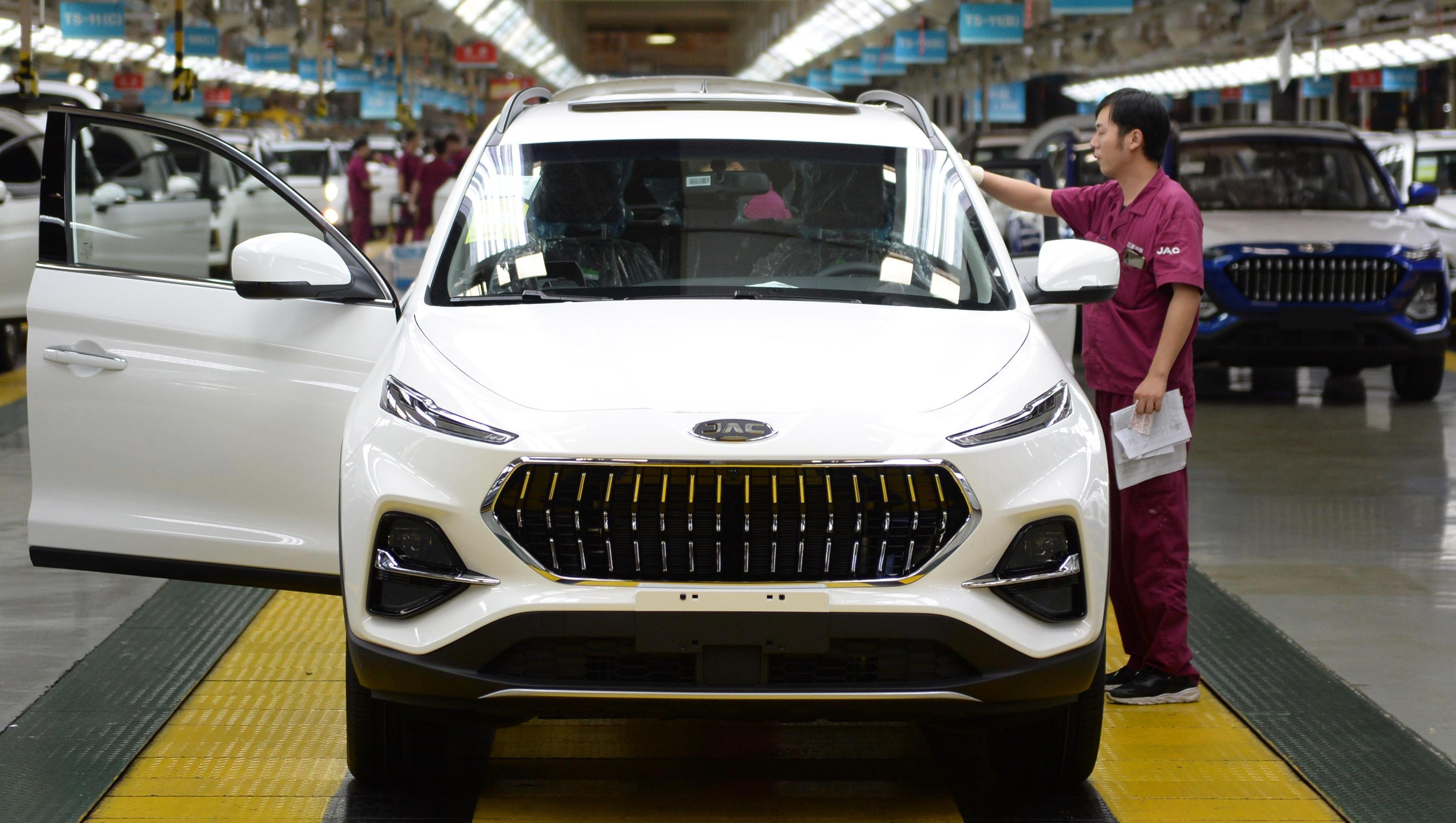 VW-Pläne mit chinesischem Autobauer JAC verärgern seine Partner