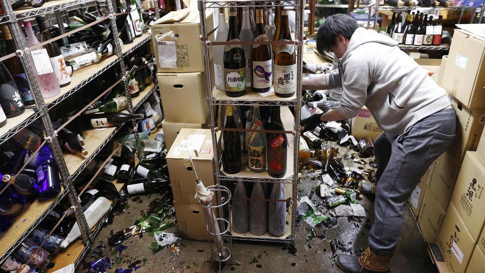 Starkes Erdbeben erschüttert Fukushima, keine Tsunami-Gefahr