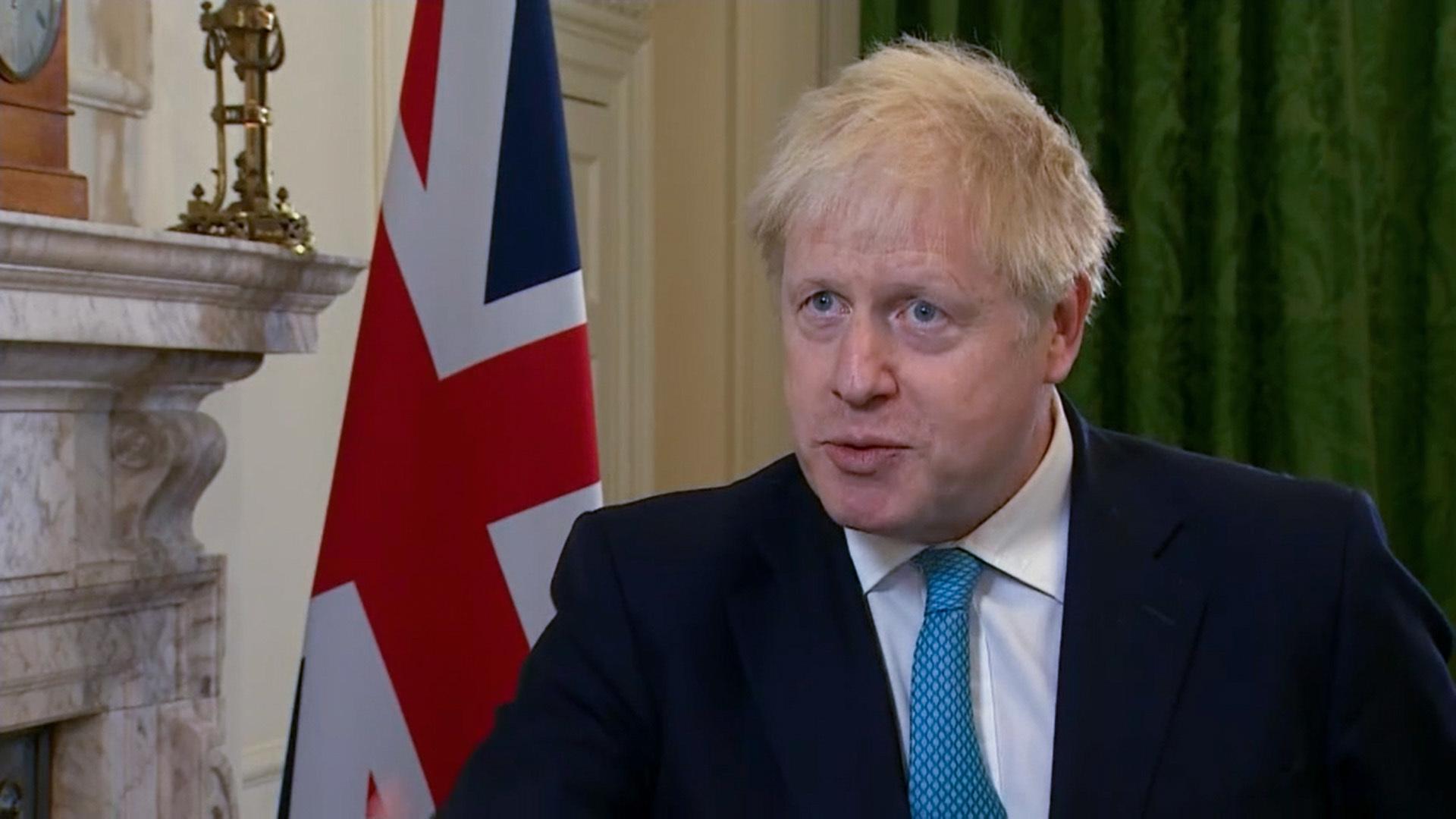 Premier Johnson schwört Großbritannien auf harten Brexit ein