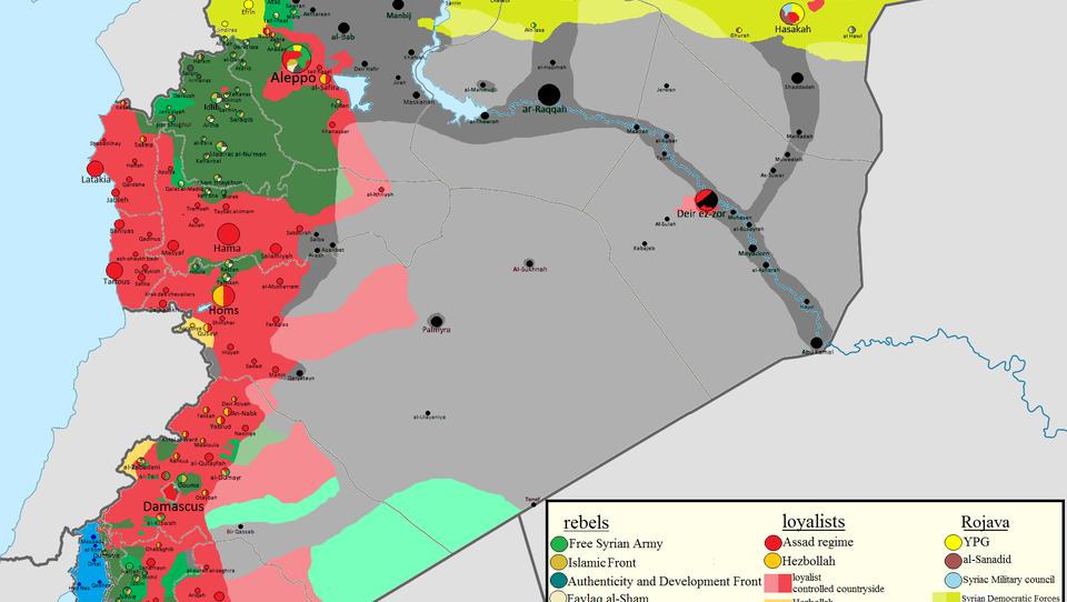 Teilungsplan Syrien: USA will Gebiete ISIS überlassen