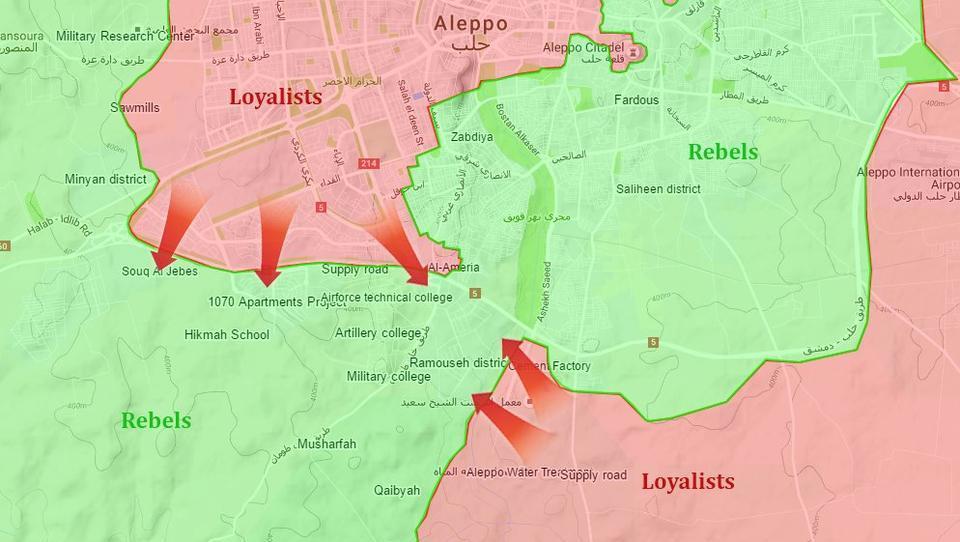 Schlacht um Aleppo: Russen und Syrer holen zum Gegenschlag gegen Söldner aus