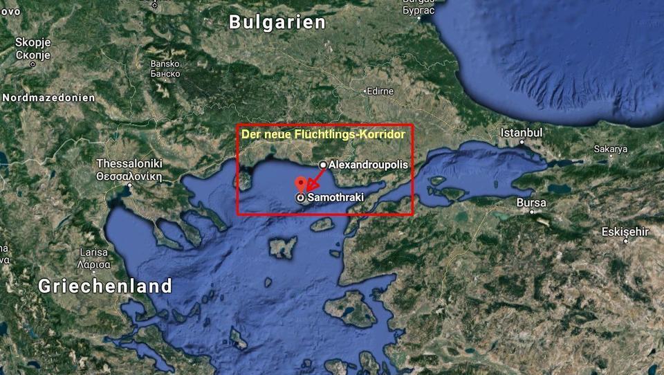 Neuer Flüchtlings-Korridor: Griechenland registriert deutliche Zunahme an Ankünften