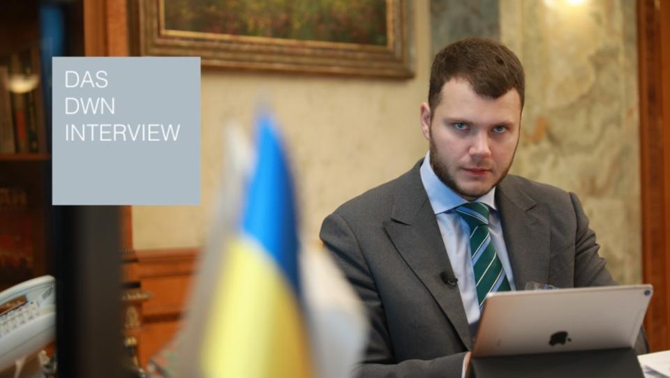 """Ukrainischer Infrastrukturminister Kryklij: """"Wir wollen die Zusammenarbeit mit den deutschen Unternehmen vertiefen"""""""