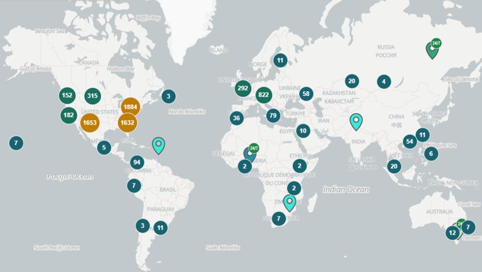 Zahl der weltweiten Bitcoin-Geldautomaten steigt auf über 7.000