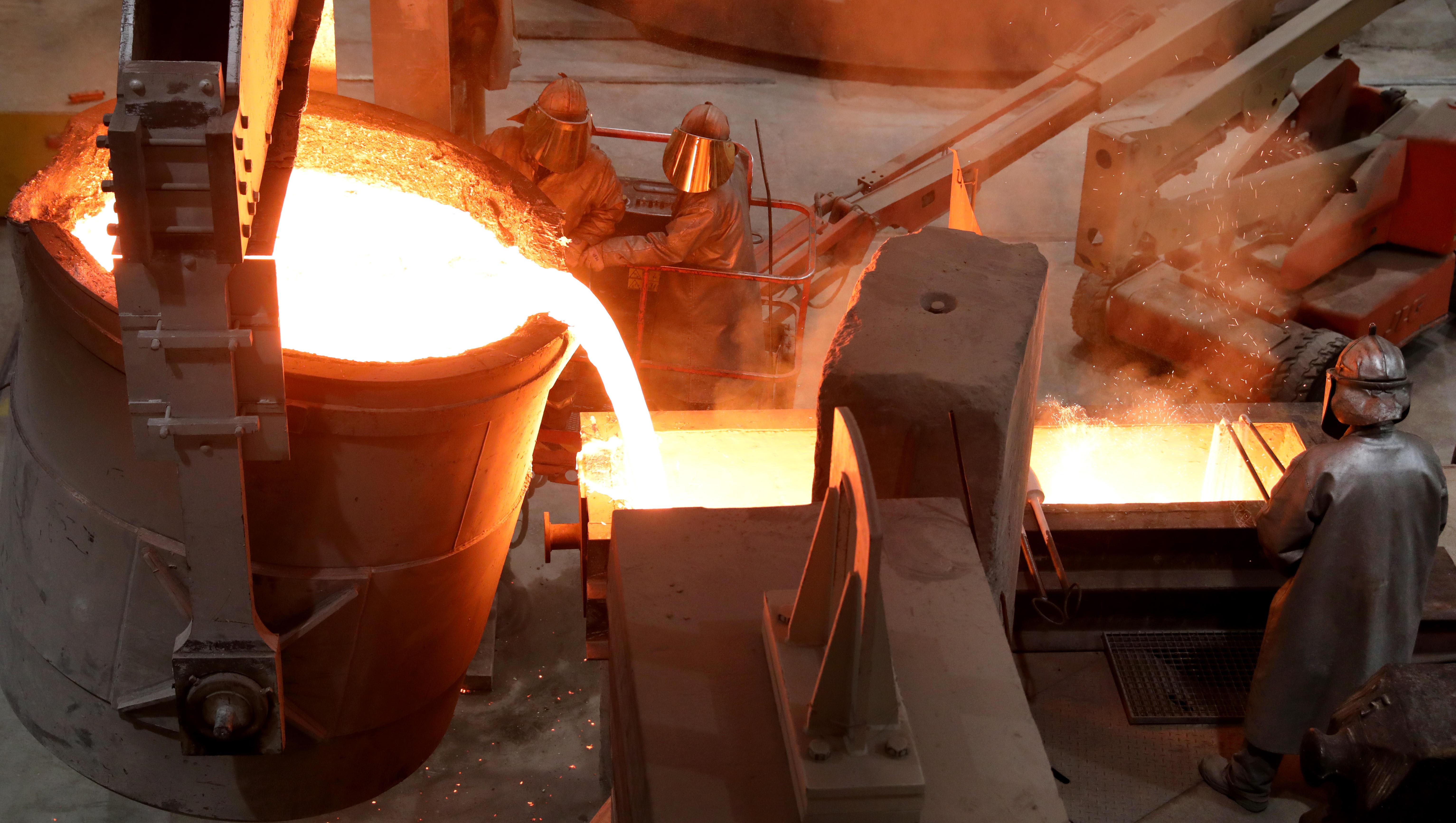 Kupferpreis steigt auf höchsten Stand seit zehn Jahren