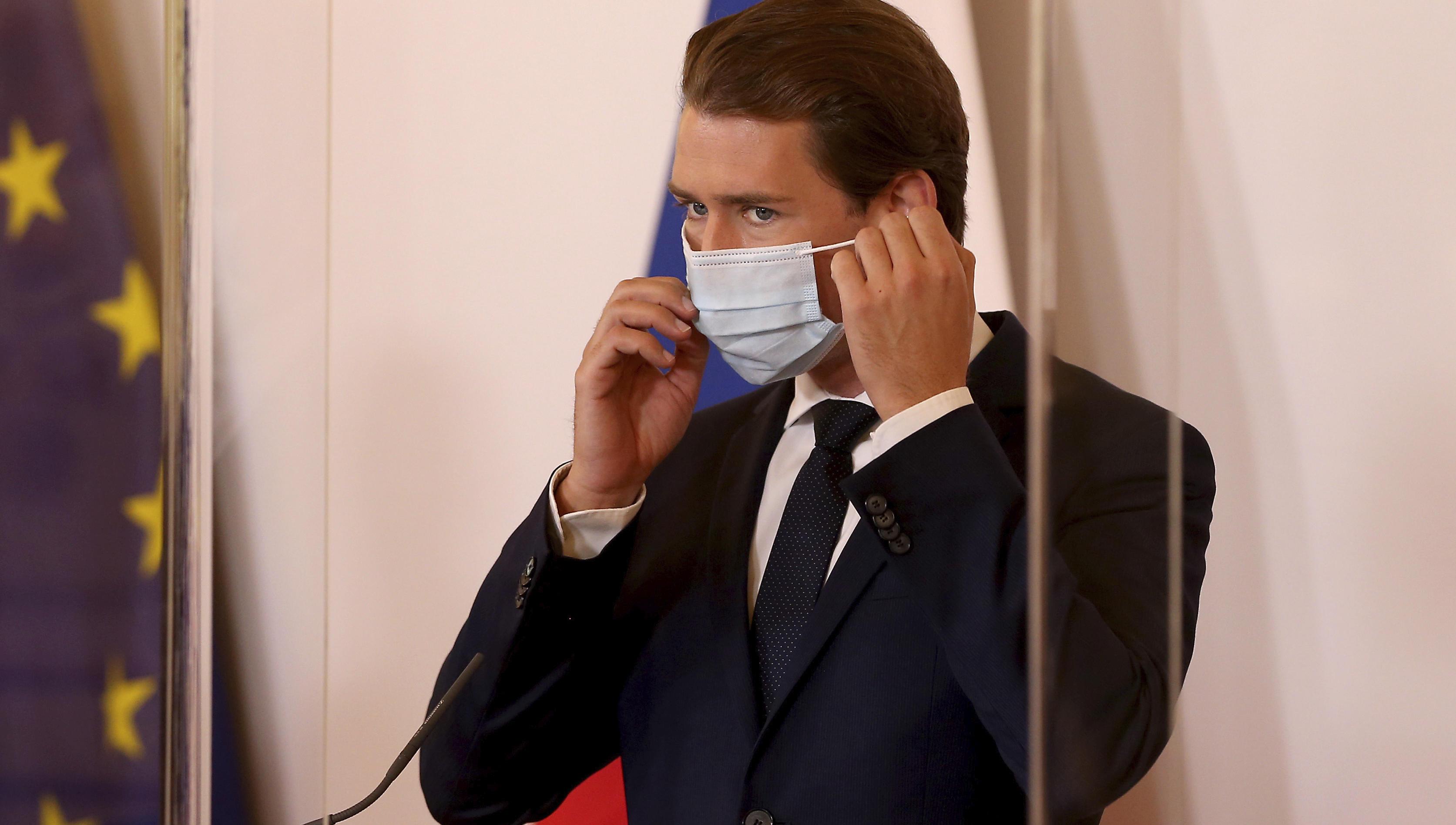 Österreich verschärft Maskenpflicht ab Montag wieder