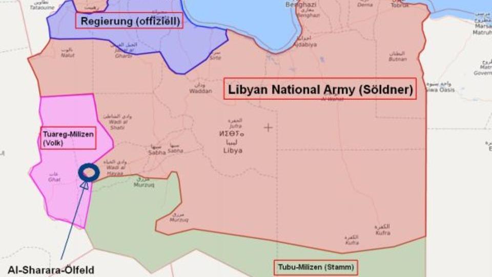 Libyen: Endkampf um größtes Ölfeld hat begonnen