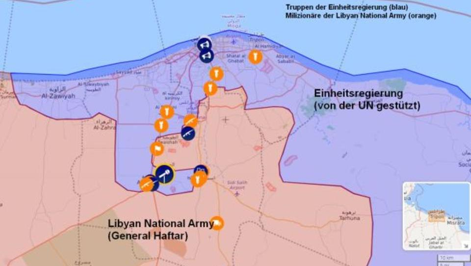 Schwere Kämpfe erschüttern Libyens Hauptstadt Tripolis