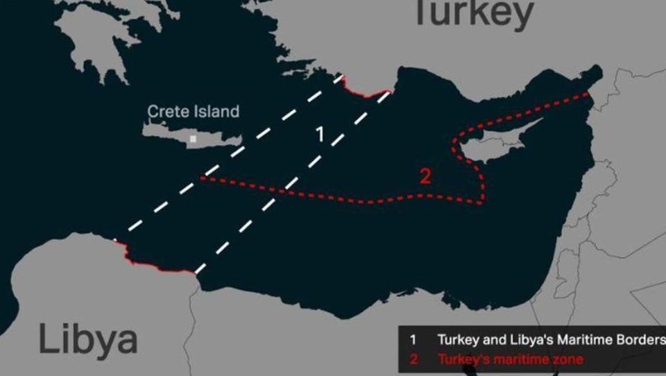 In Libyen stehen sich Frankreich und die Türkei gegenüber - ebenso wie im östlichen Mittelmeer