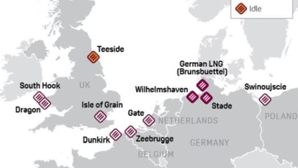 Bundesregierung fördert Flüssiggas-Terminals in Norddeutschland