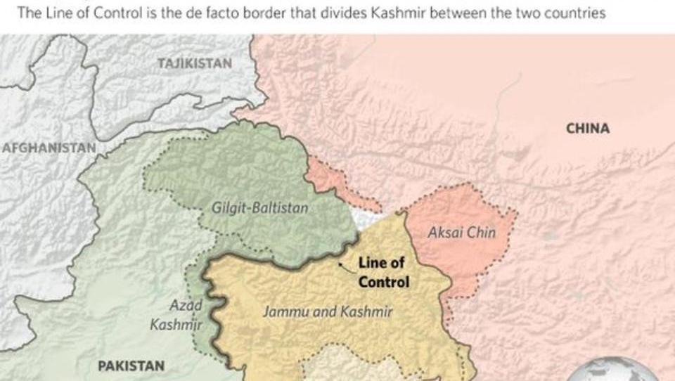 Stimmen der Großmächte zum Kaschmir-Konflikt