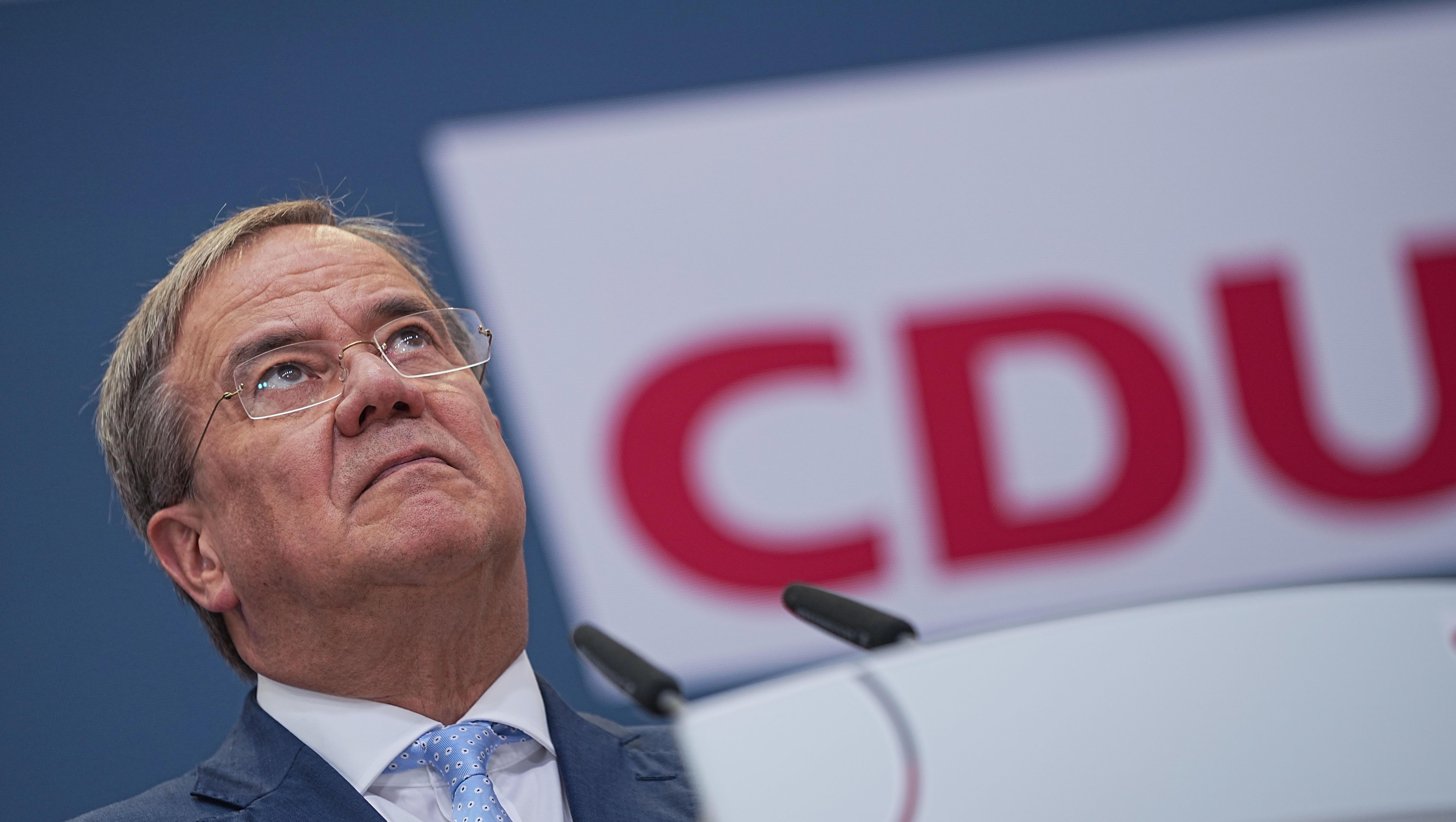 WAHL-TICKER: Mehrheit der Unionswähler für Rücktritt von CDU-Chef Laschet