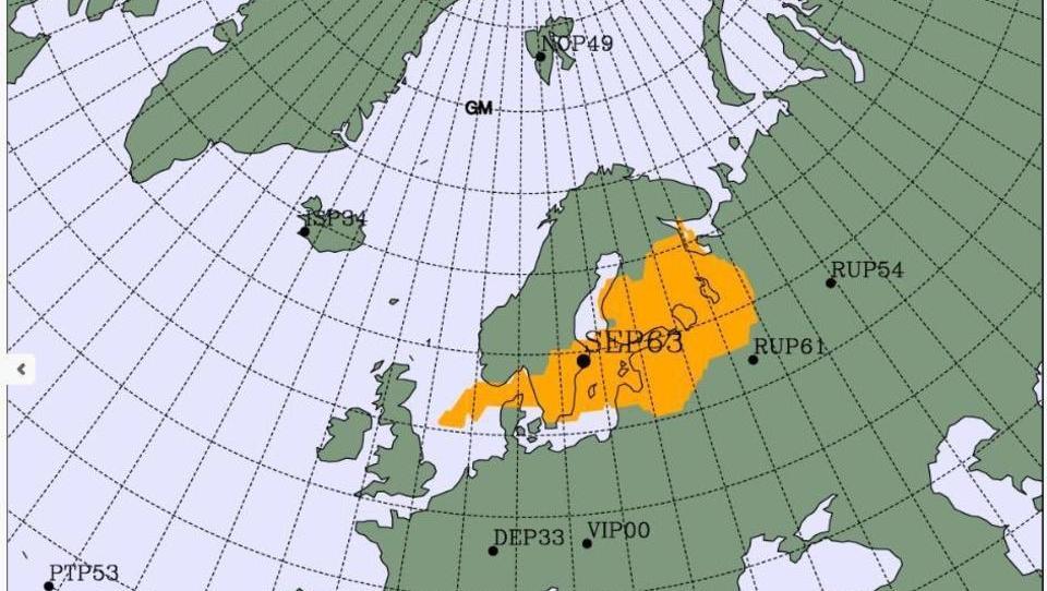 Erhöhte Radioaktivität in der Ostsee festgestellt